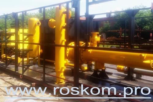 Установка подготовки газа, оборудование